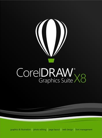 CorelDRAW Graphics Suite X8 feature image