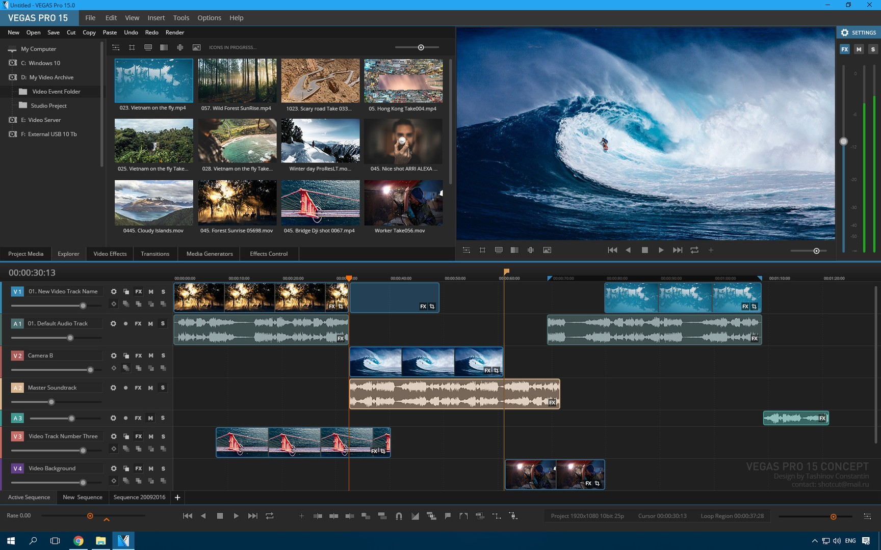 sony vegas pro full version free