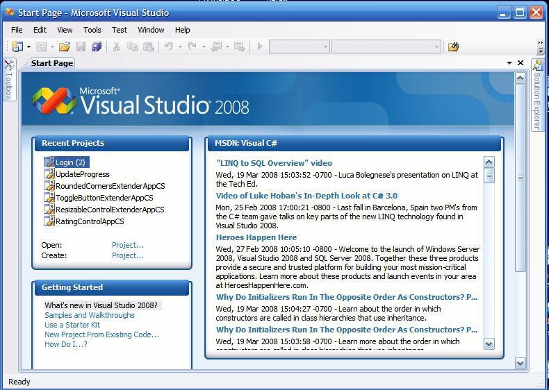 Visual Studio 2008 ISO Free Download Offline installer - Offline