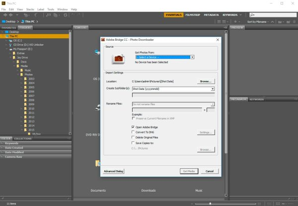 Adobe Bridge CC 2018 v8 0 for Windows free Download