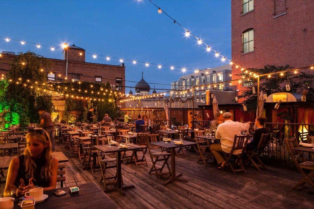 Outdoor Dining In Brooklyn