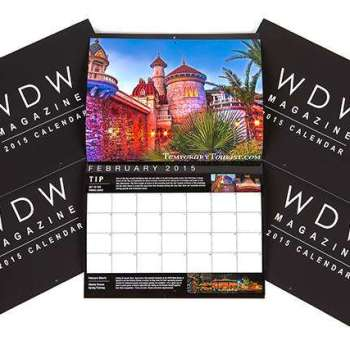 WDW Magazine Calendar 2015