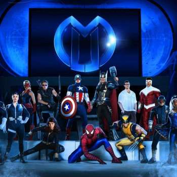 Marvel Universe Live Group Photo