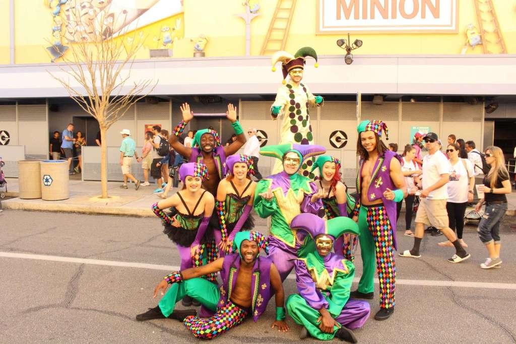 Universal Mardi Gras