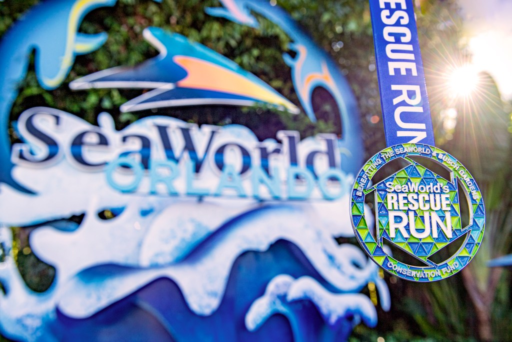 Seaworld Rescue Run metals