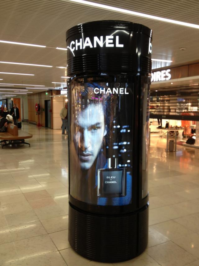 PLV Chanel Aéroport