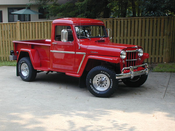 1950 Willys Jeep Pick Up