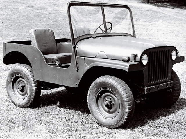 1953 Willys Jeep Bobcat Another Jeep Prototype