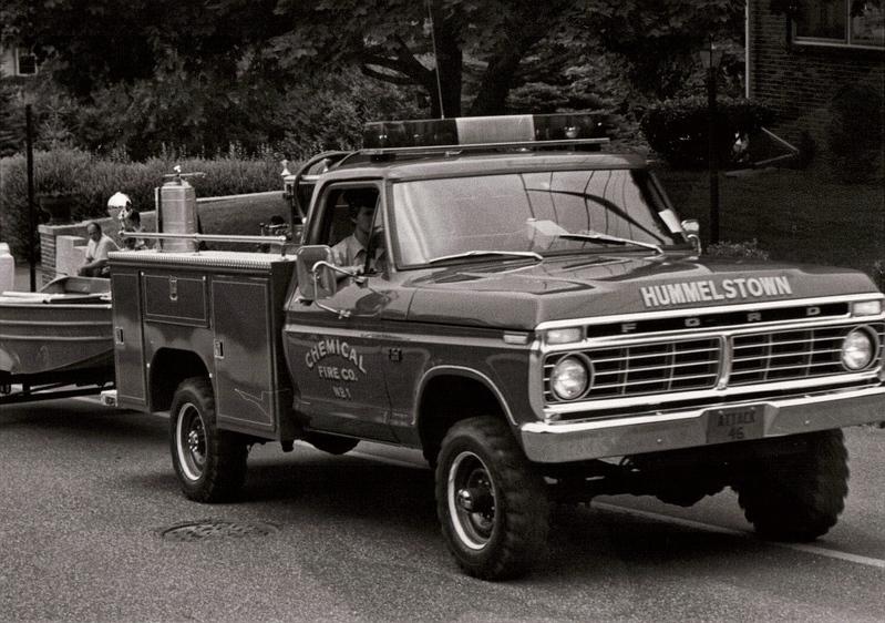70 S Ford Fire Trucks