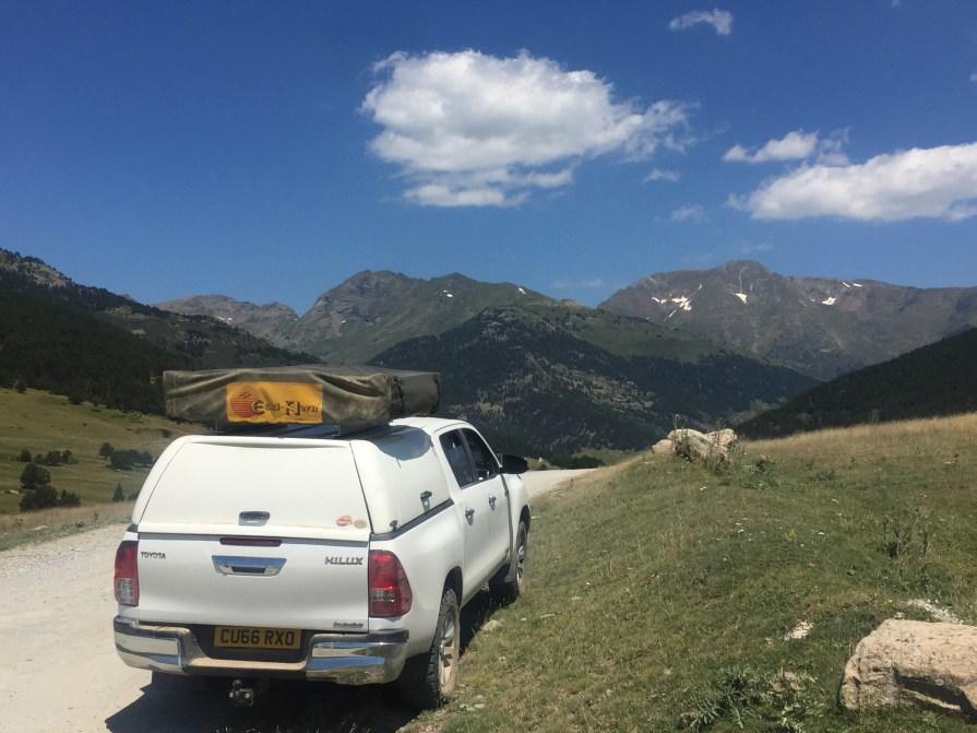 4x4 pyrenees tour