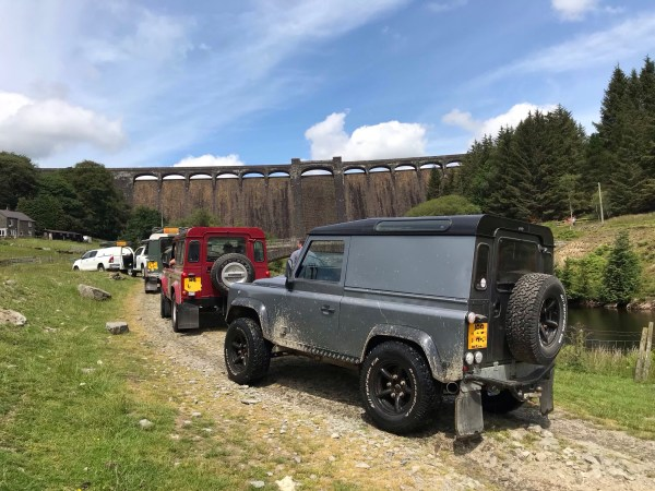Elan valley 4x4