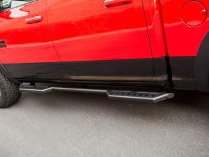 RAM 1500 Rock Sliders/ Step Bars