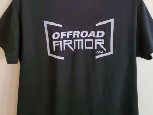 Black Offroad Armor shirt