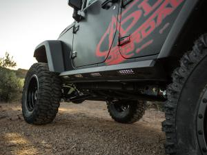 Jeep JK Rock Sliders/ Step Bars