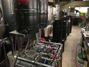 Applied Craft Brewing - The keg cleaning machine