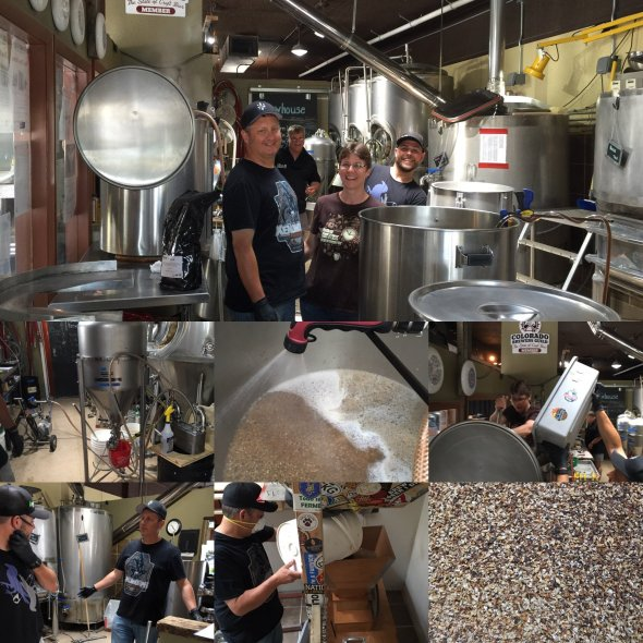 Loggerhead Porter Brew Day for ProAm GABF 2016