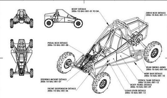 dune buggy frame plans free | Framess.co