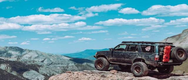 Good Ground Clearance for Off-Roading