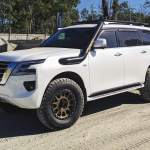 Lifted Nissan Patrol Y62 Thunder From Down Under Offroadium Com