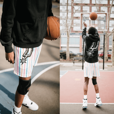 Eric Emanuel Basketball Shorts