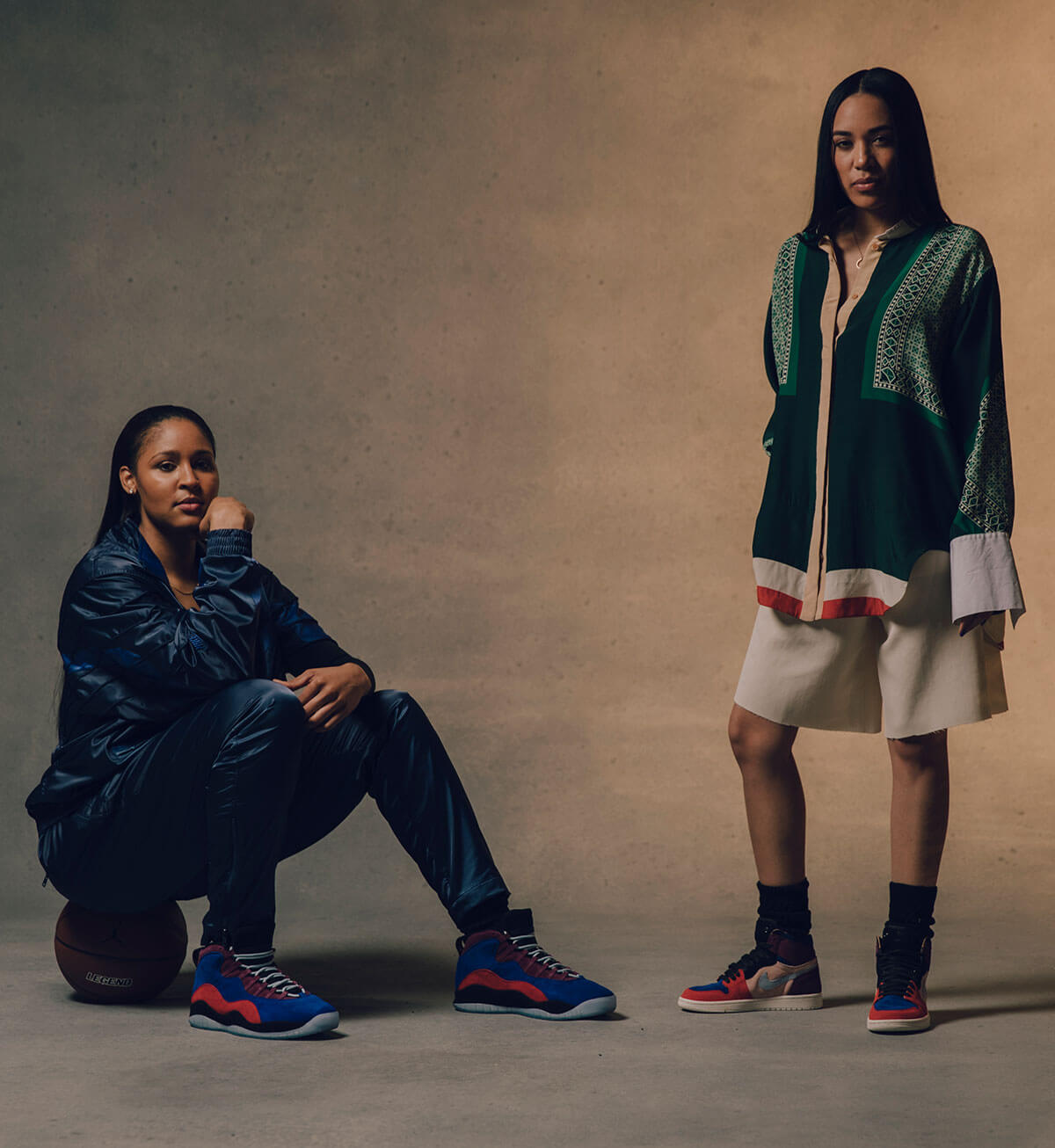 The Maya Moore x Aleali May Court Lux Sneaker Collection