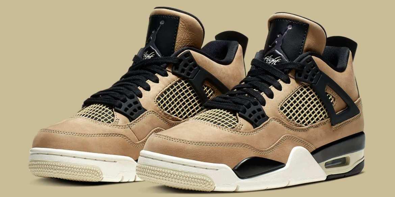 """Air Jordan 4 """"Mushroom"""" sneaker"""