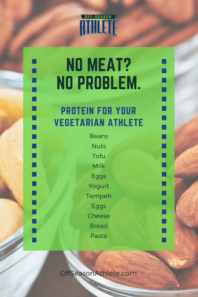 It is normal for teens to show interest in a vegetarian lifestyle. Off-Season Athlete is here to help you learn more about vegetarian protein choices for teen athletes.