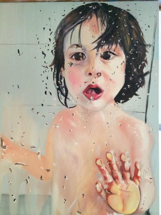 Olivier: Bath Time by Bill Lilliecrapp