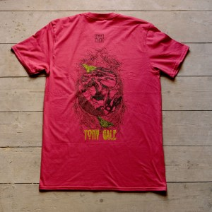 Moonshine Tony Gale T Shirt Back