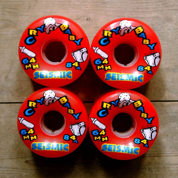 Seismic Cry Baby 64mm 84a Square