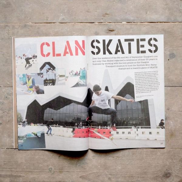 Dope Zine Winter 2018 Clan Skates