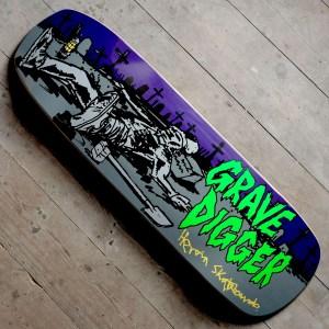 Heroin Skateboards Grave Digger Main