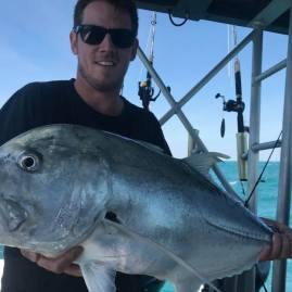 Giant Trevally Darwin sport fishing charter