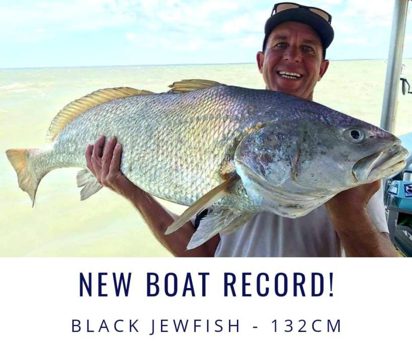 New Jewfish boat record with Offshore Boats!