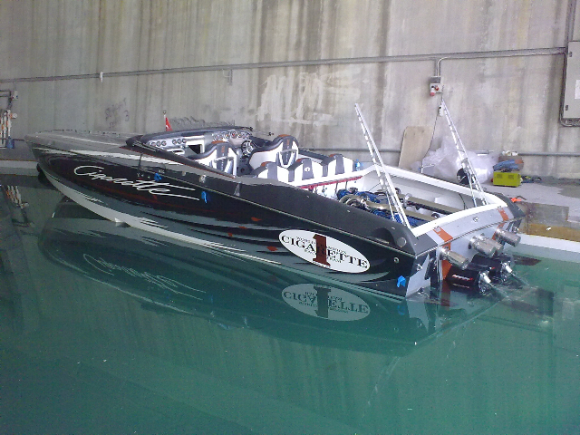 39' Cigarette Top Gun With Arnesons! Offshoreonlycom