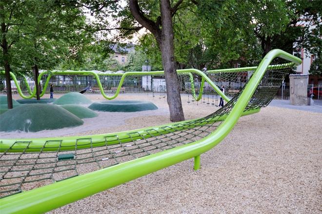 Sculptural Playground by Annabau in Weisbaden