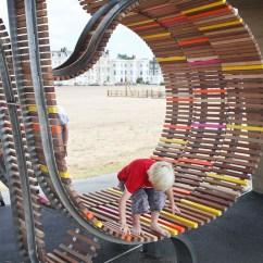 European Kitchen Gadgets Wood Top For Island Public Space Design - Longest Bench