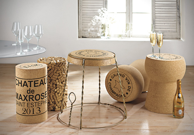 Champagne Cork Furniture