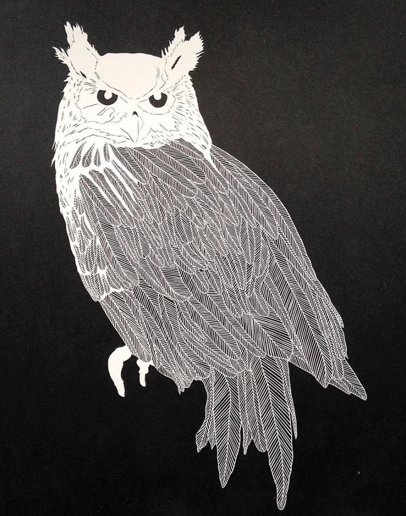 Amazing handcut paper art