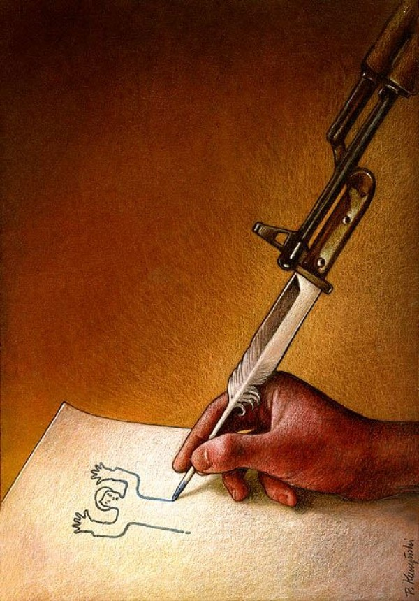 Thoughtprovoking illustrations by Pawel Kuczynski