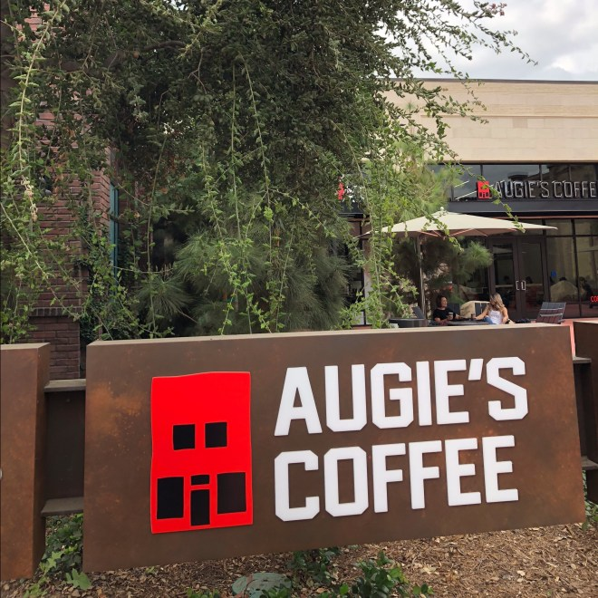 Augie's Coffee shop store front