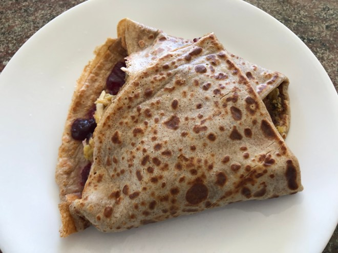 Thanksgiving crepe