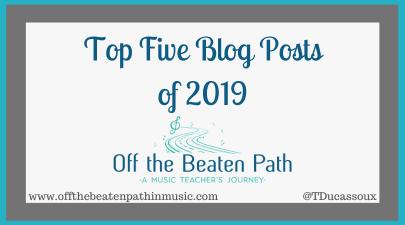 Top Five Blog Posts of 2019