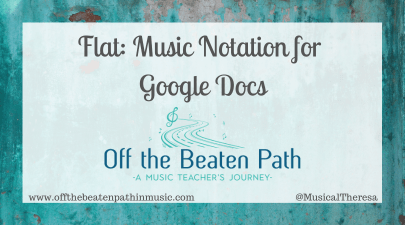 Flat: Music Notation for Google Docs