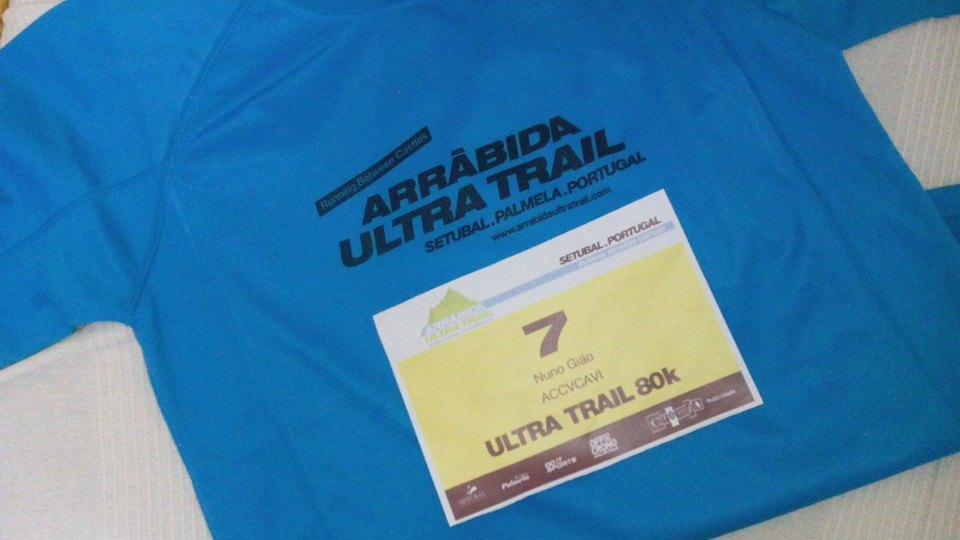 O 7 no Arrábida Ultra Trail