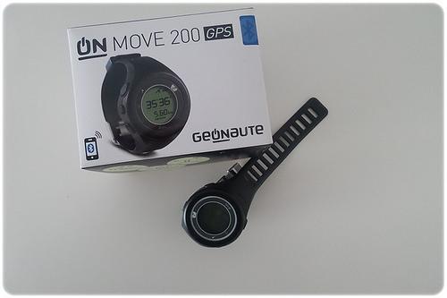 Teste ao Relógio Geonaute OnMove 200