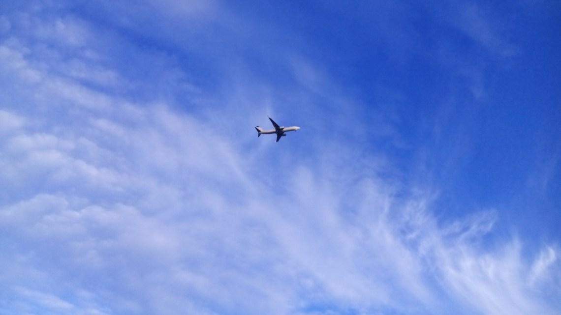 O avião