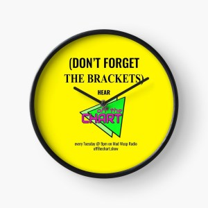 """(Don't forget the brackets)"" clock"
