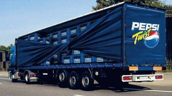 3D Truck Wrapping
