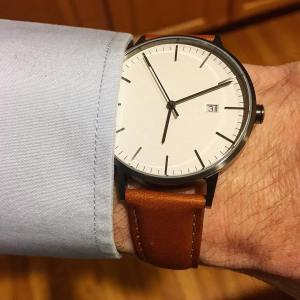 Classic minimalism meets modern cool from linjerco Their new watchhellip